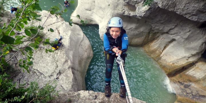 Canyoning and climbing around Castellane and the Verdon gorges - 0