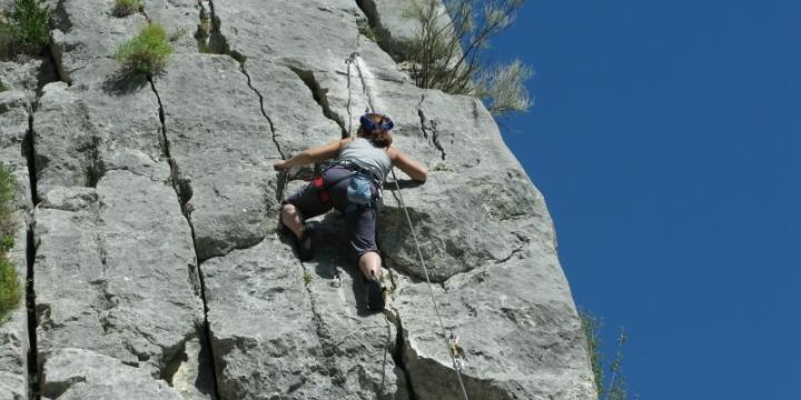 Canyoning and climbing around Castellane and the Verdon gorges - 2