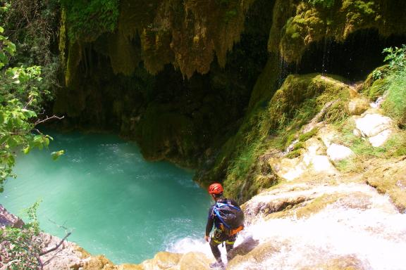 Canyoning - Canyon Val d'Angouire