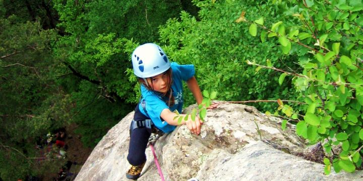 Initiation and advanced course of rock climbing