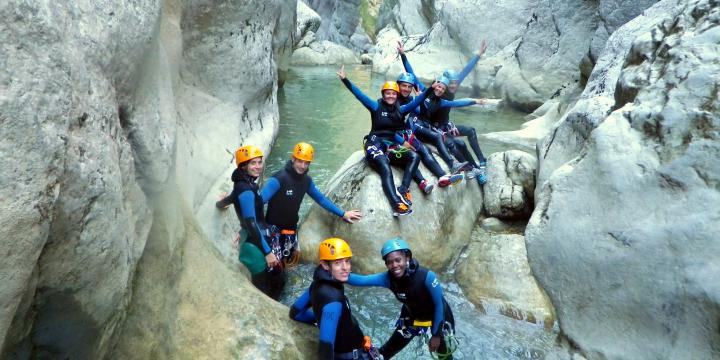 Canyoning and climbing around Castellane and the Verdon gorges - 1