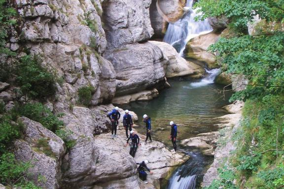 Canyoning - Canyon de Saint Auban