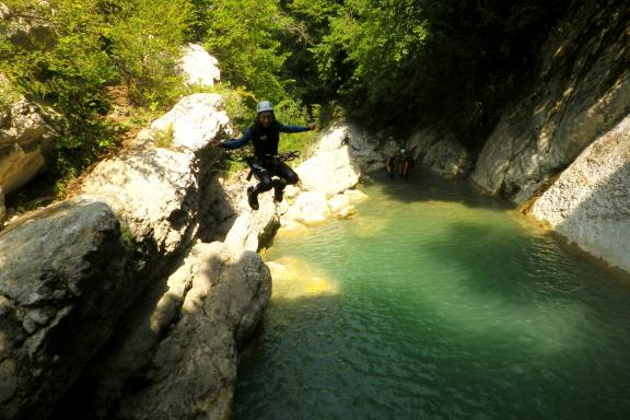 Canyoning - Canyon of Gours du Ray